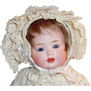Bahr and Proschild 585 Character Bisque Head Baby Doll
