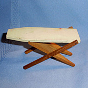 Painted Wooden Dollhouse ironing Board