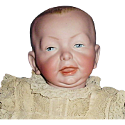 Antique German Kammer and Reinhardt K star R 100 Character Baby Doll