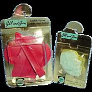 SOLD Vogue Jill and Jan Stockings Purse Belt Collar MIPKG