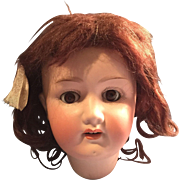 1919 German Bisque Heubach Koppelsdorf Doll Head