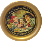 Vintage Phil. Schneider Brewing Beer Tip Tray Trinidad Co.