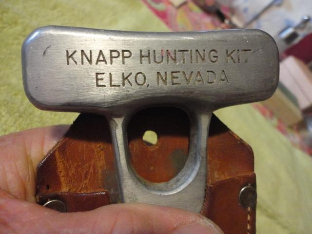 Vintage Knapp Bone Saw Amp Edge Brand Stag Handle Hunting
