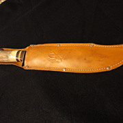 SOLD German Bowie handle Bowie knife 13 inch