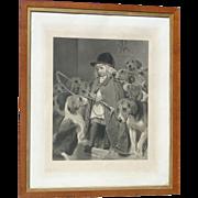 Charles Burton Barber (1845 - 1894) pencil signed engraving British artist famed for portrayal