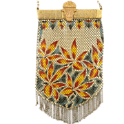 Mandalian Gloria Bag 1920's Coveted Floral Pattern