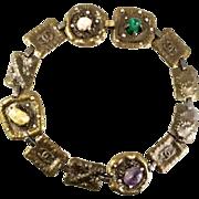 Chanel Necklace Semi Precious Stones 1990s