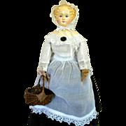SALE Beautiful German Paper mache Doll 1870