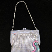 SOLD WHITING & Davis Art Deco Style Mesh Purse