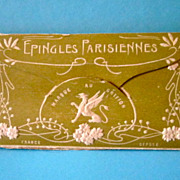 Vintage Package of Unique French Toilette Pins