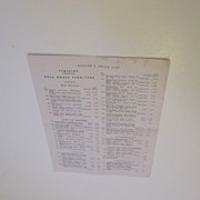 SOLD Original Tynietoy Dealer's Price List