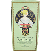 New Calendar of SALADS; Elizabeth O. Hiller