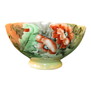 SALE Orange Poppy Bowl