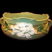 """SALE PENDING Roseville Pottery Bowl """"Gardenia"""""""
