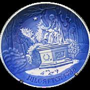 Vintage Bing And Grondahl 1988 Christmas Plate