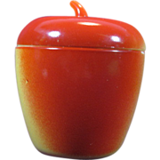 Vintage Hazel Atlas  Apple Jam Jar
