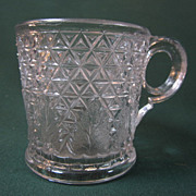 Diamond Cut with Leaf Mug