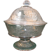 """Canadian"" Compote with Lid"