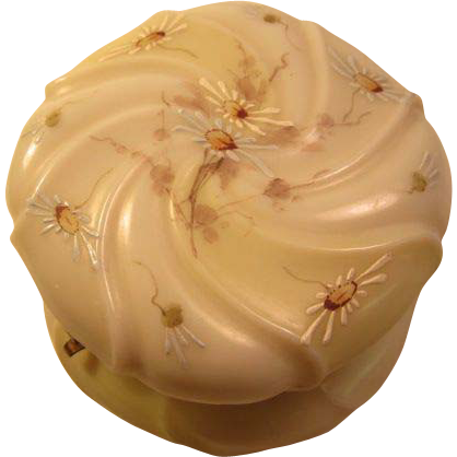 Wave Crest Swirl Trinket Box