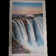 Vintage Linen Postcard of Terrapin Point #285