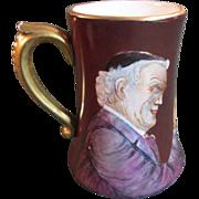 Limoges Portrait Mug 1908, Barware