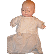 REDUCED Antique Composition Baby Doll Royal Gorgeous!