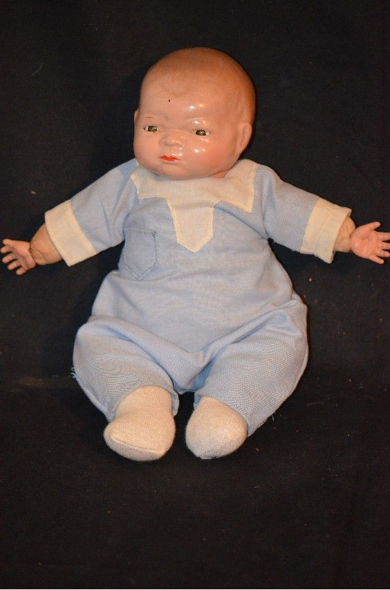 Antique Grace S. Putnam By-lo Baby Doll Adorable