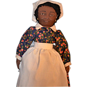 SOLD Vintage Cloth PRISSY Doll Gone With The Wind Signed Black