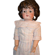 REDUCED Antique Bisque Doll Simon & Halbig 403 Walker Body