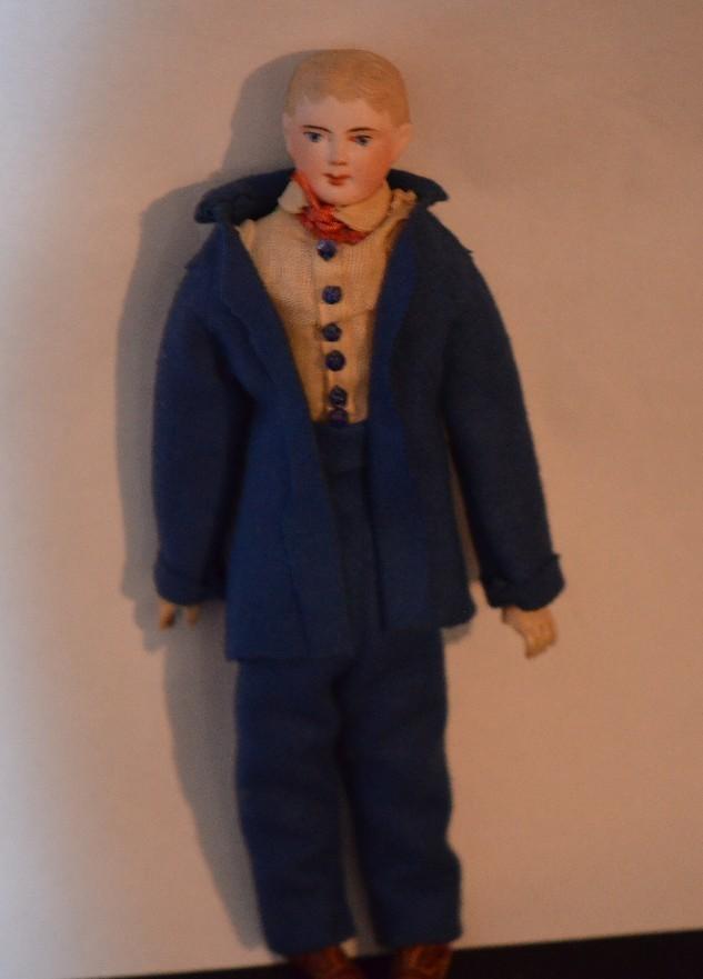 Antique Doll F G Bisque Head French Doll Gaultier FG Unusual