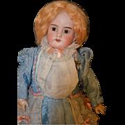 REDUCED Antique Doll Mechanical Walker Bisque Wind-Up