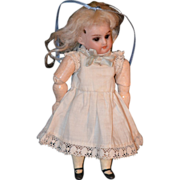 REDUCED Antique Doll Bisque Mignonette Swivel Head Jointed Body French Market Dollhouse
