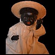 REDUCED Antique Doll Rare Kammer & Reinhardt  Black100 Glass Eyes