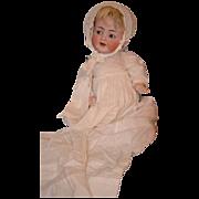 REDUCED Antique Doll Bisque Kammer & Reinhardt Simon Halbig Flirty Eye Baby Big