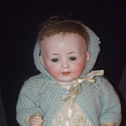 REDUCED Antique Doll Bisque Character Baby Unusual