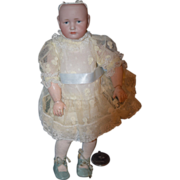 REDUCED Antique Doll Kammer & Reinhardt 114 Pouty Face Girl Miniature