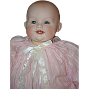 REDUCED Antique Doll Georgene Averill Bisque Bonnie Babe