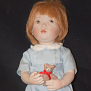 Doll Porcelain Beatrice Perini Artist Doll Italian Maker