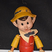 Antique Doll Ideal Pinocchio Doll Wood Wood