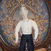 Old Doll Cloth Unusual Man Rag