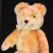 Vintage Teddy Bear English Mohair Jointed Twyford
