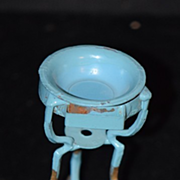 Antique Doll Miniature Plant Stand Ornate Dollhouse