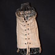 Antique Fashion Doll Corset Lace up