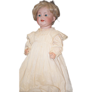 Antique Doll Bisque Baby Toddler Kammer Reinhardt Simon & Halbig 126 Wobbly Tongue