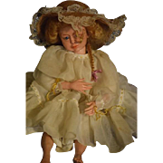 SOLD Vintage Doll Wax Artist Signed Gay Jacobsen Wonderful