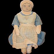 Old Doll Cloth Rag Unusual