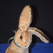 Old Doll Toy Steiff Rabbit Mohair Adorable