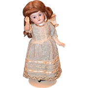 Antique Doll Bisque Cabinet Size Sweet