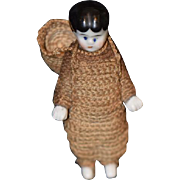 Antique Doll Miniature Chimney Sweep Frozen Charlotte Dollhouse