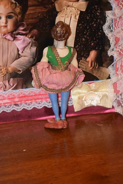 Antique Doll Schoenhut Wood Amp Bisque Head Character Face
